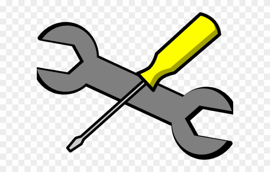Wrench icon png download. Screwdriver clipart clip art