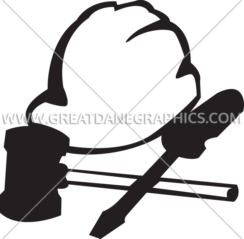 Hat tools production ready. Screwdriver clipart construction tool