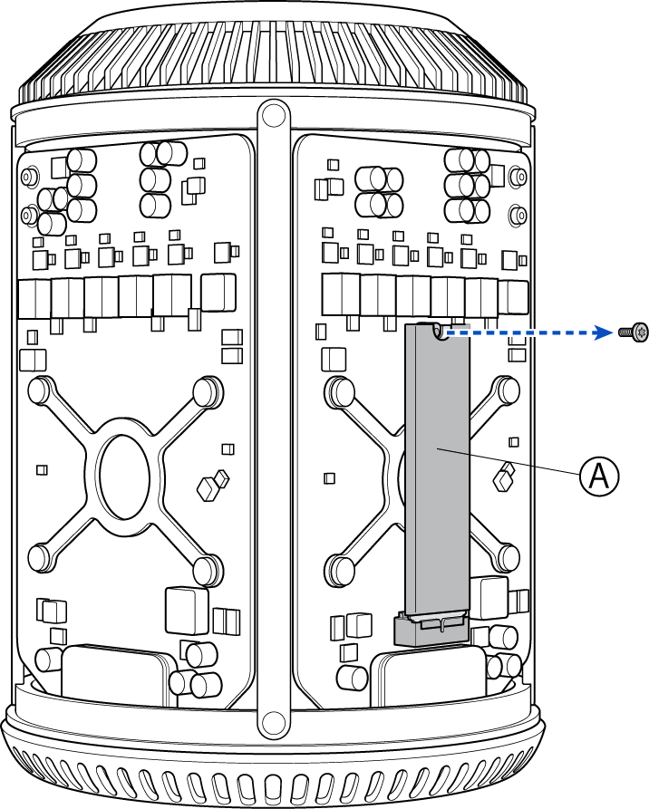 Screwdriver clipart diagram. Mac pro late removing