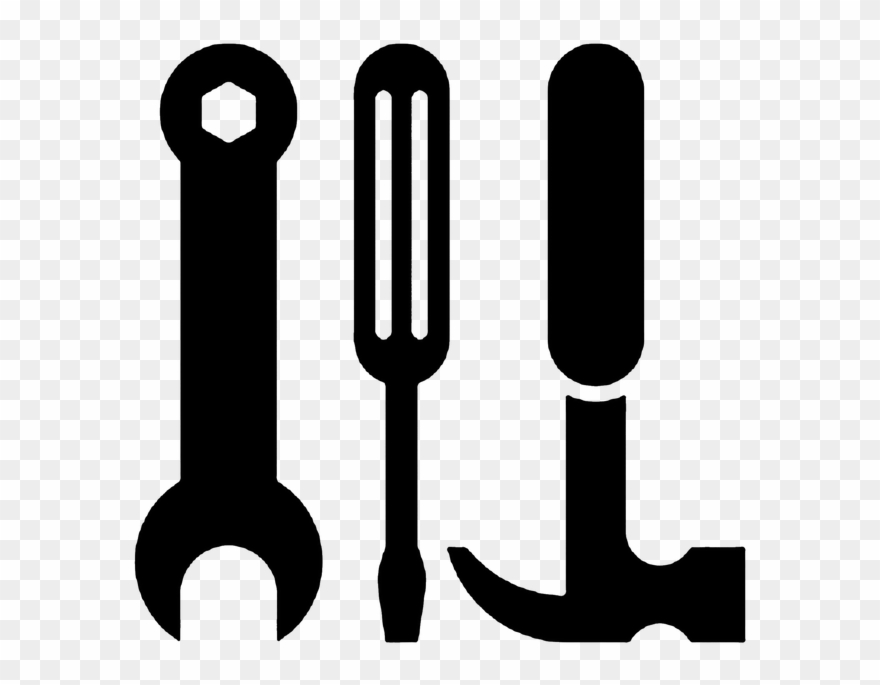 Screwdriver clipart hammer screwdriver. Craft icon free png