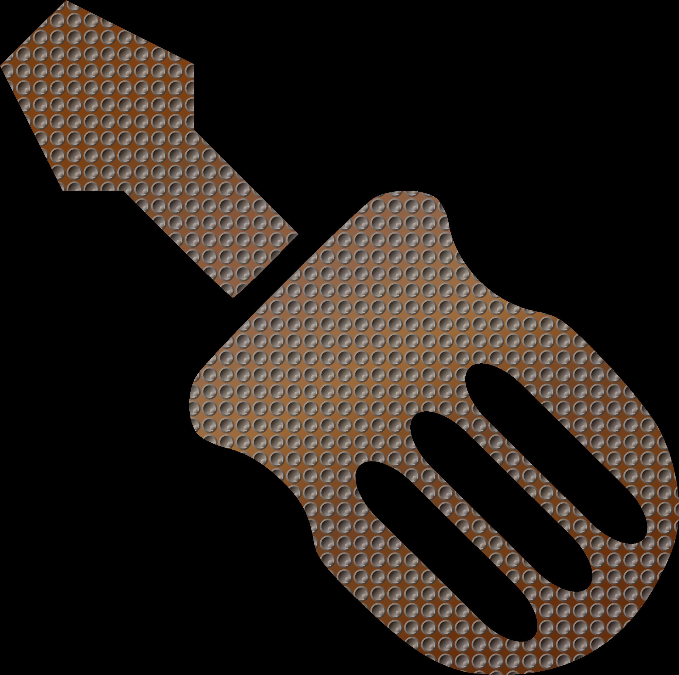 Screwdriver clipart hand tool. Vector remix big image