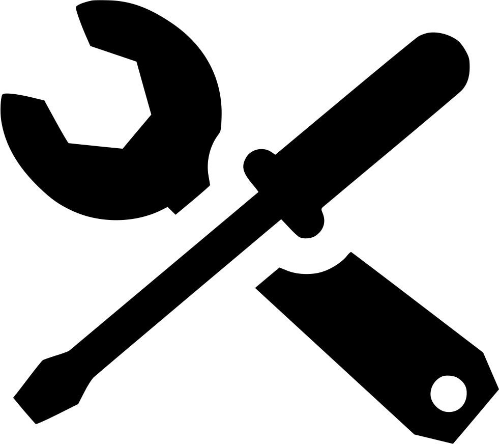 Screwdriver clipart labour. Wrench svg png icon