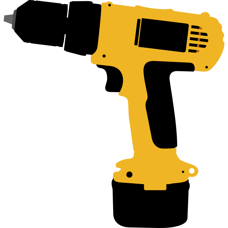 Augers power tool clip. Screwdriver clipart saw