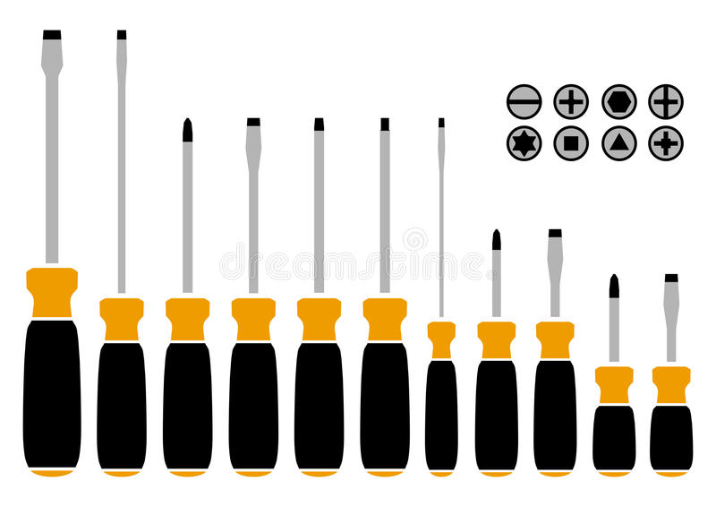 Screwdriver clipart tip.  types of screwdrivers