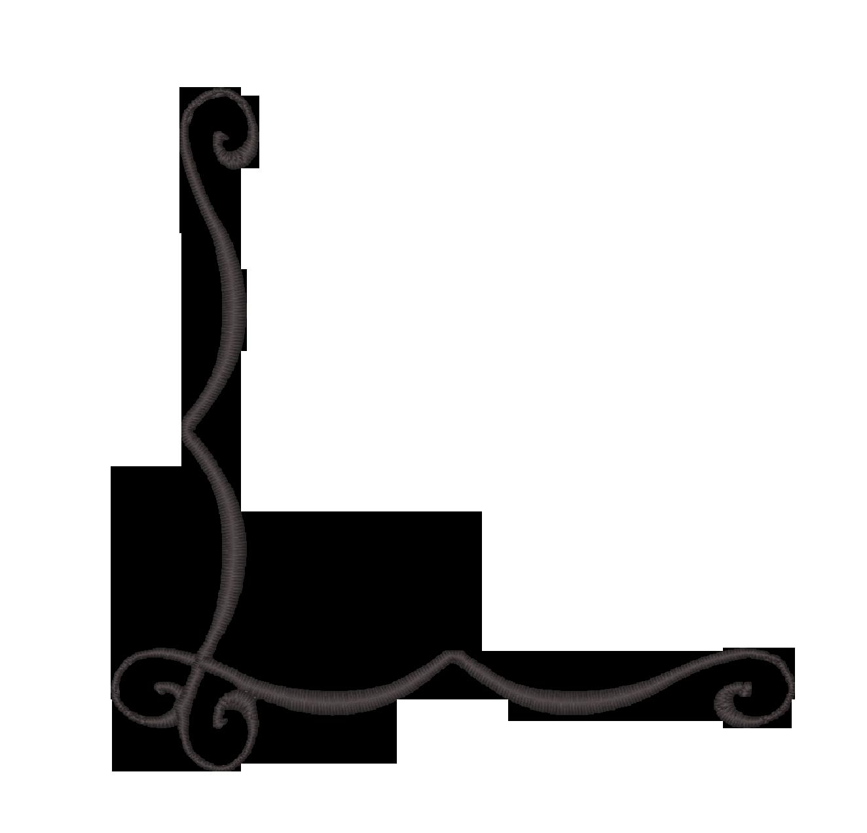filigree clipart vector