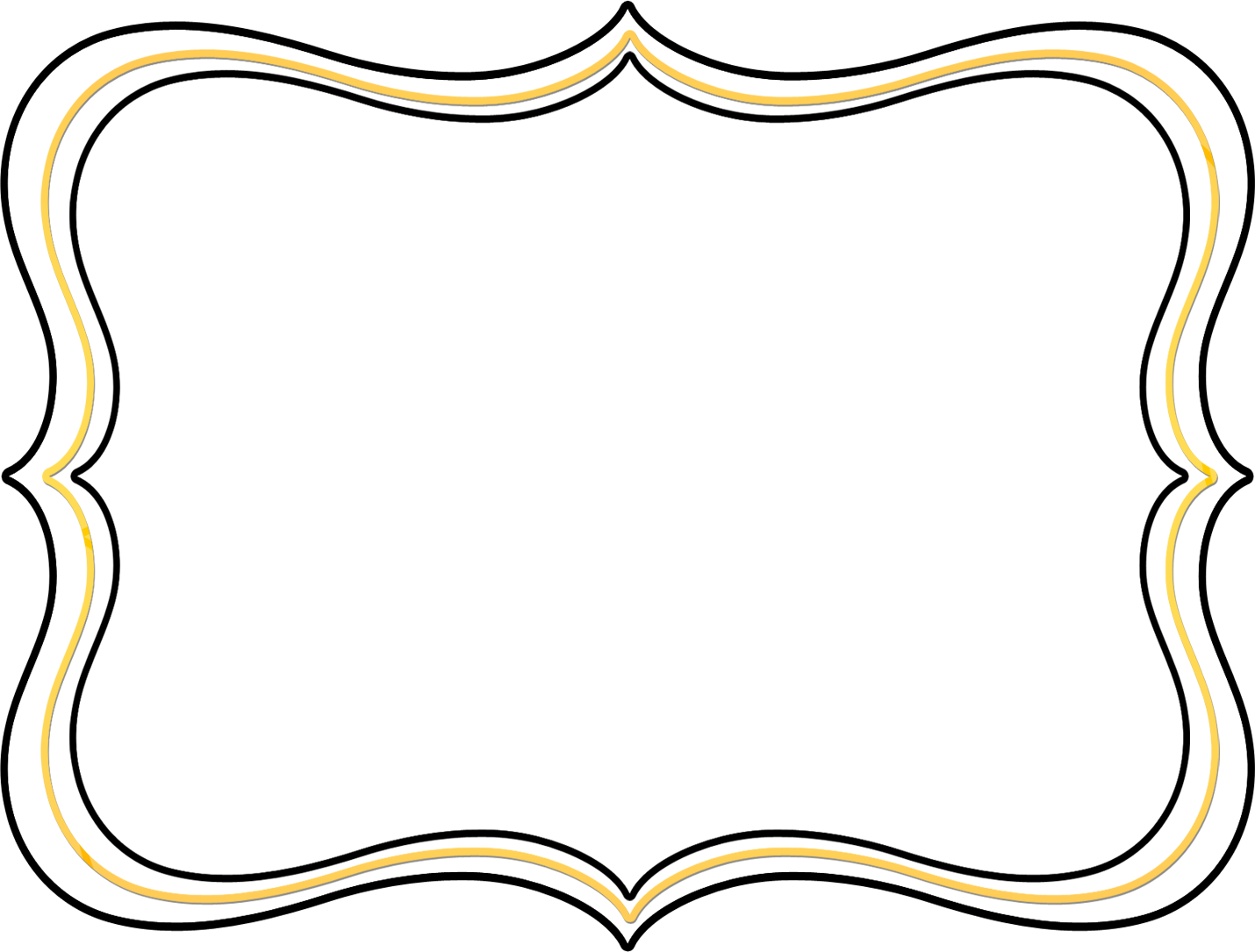 Scroll frame png. Border clipart