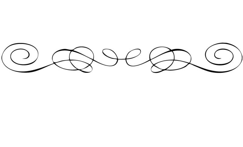 Lines clipart.  decorative scroll clip