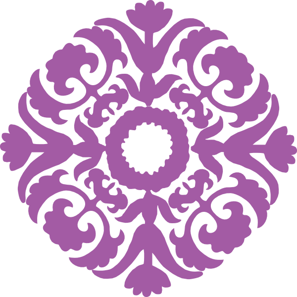 Purple clipart filigree. Flourishtile clip art at