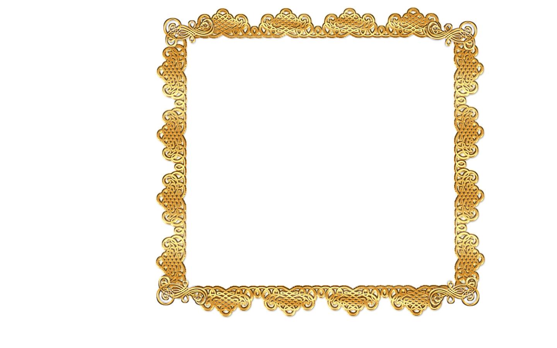 Scroll clip art frame. Gold clipart panda free