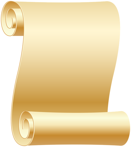 Short clipart transparent. Empty scroll png clip
