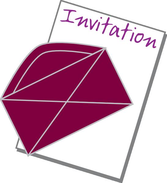 Invitation clipart. Free ideal vistalist co