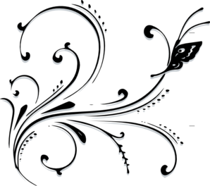 Butterfly patterns pinterest. Scroll clip art scrollwork