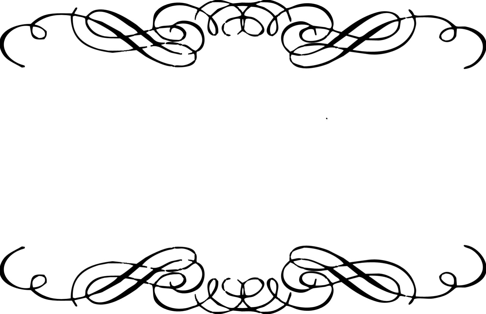 Funeral clipart accent. Scrollwork free clip art