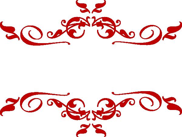 Clipart red vector online. Scroll clip art swirl