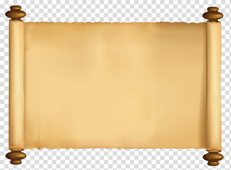 Scroll clipart background. Paper papyrus beige illustration