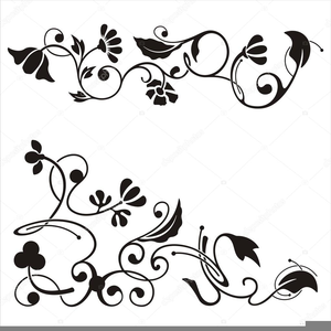 Free images at clker. Scroll clipart floral scroll