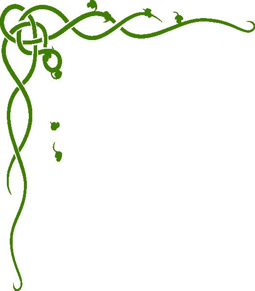 Scroll clipart line. Large corner clip art