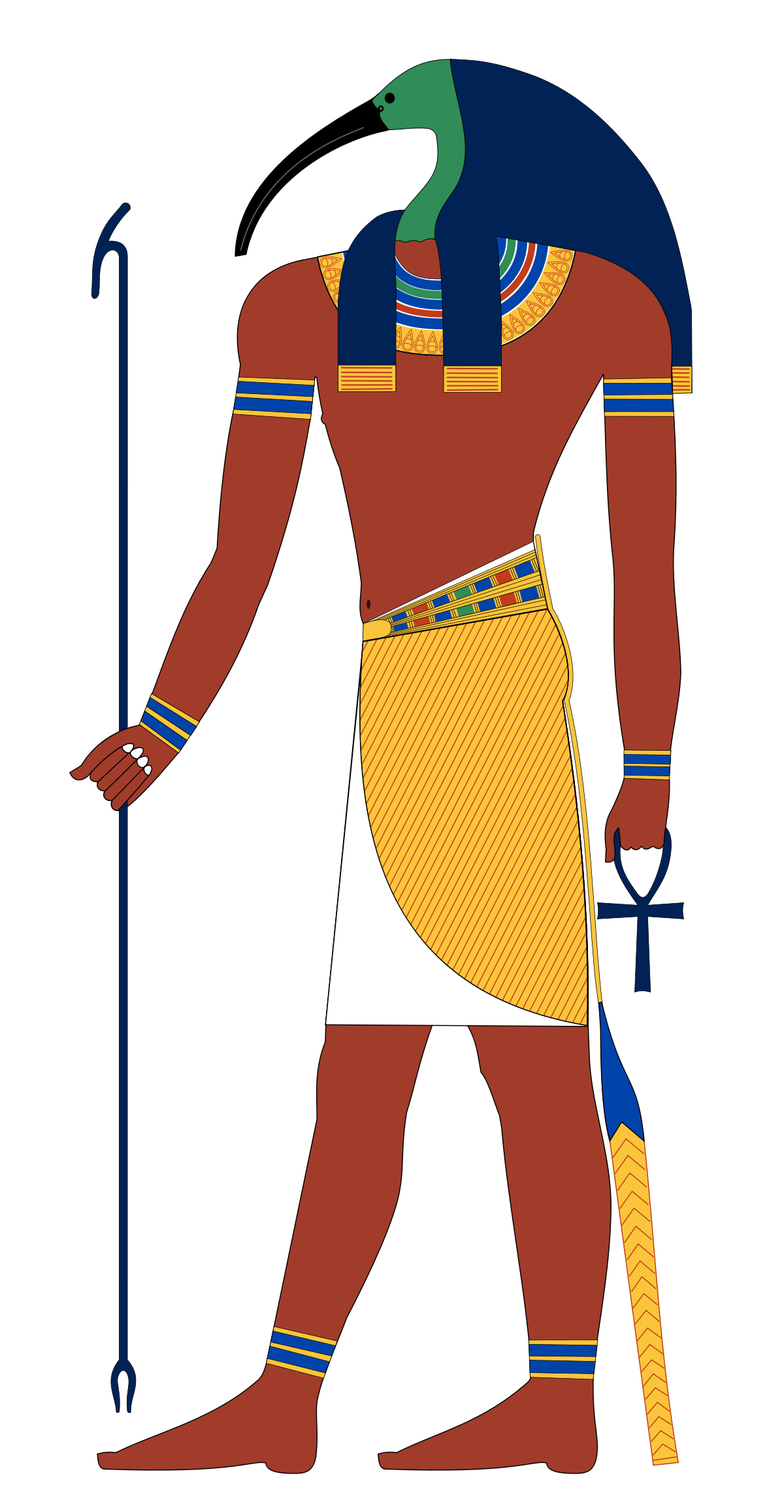 Egyptian clipart number system. Thoth wikipedia