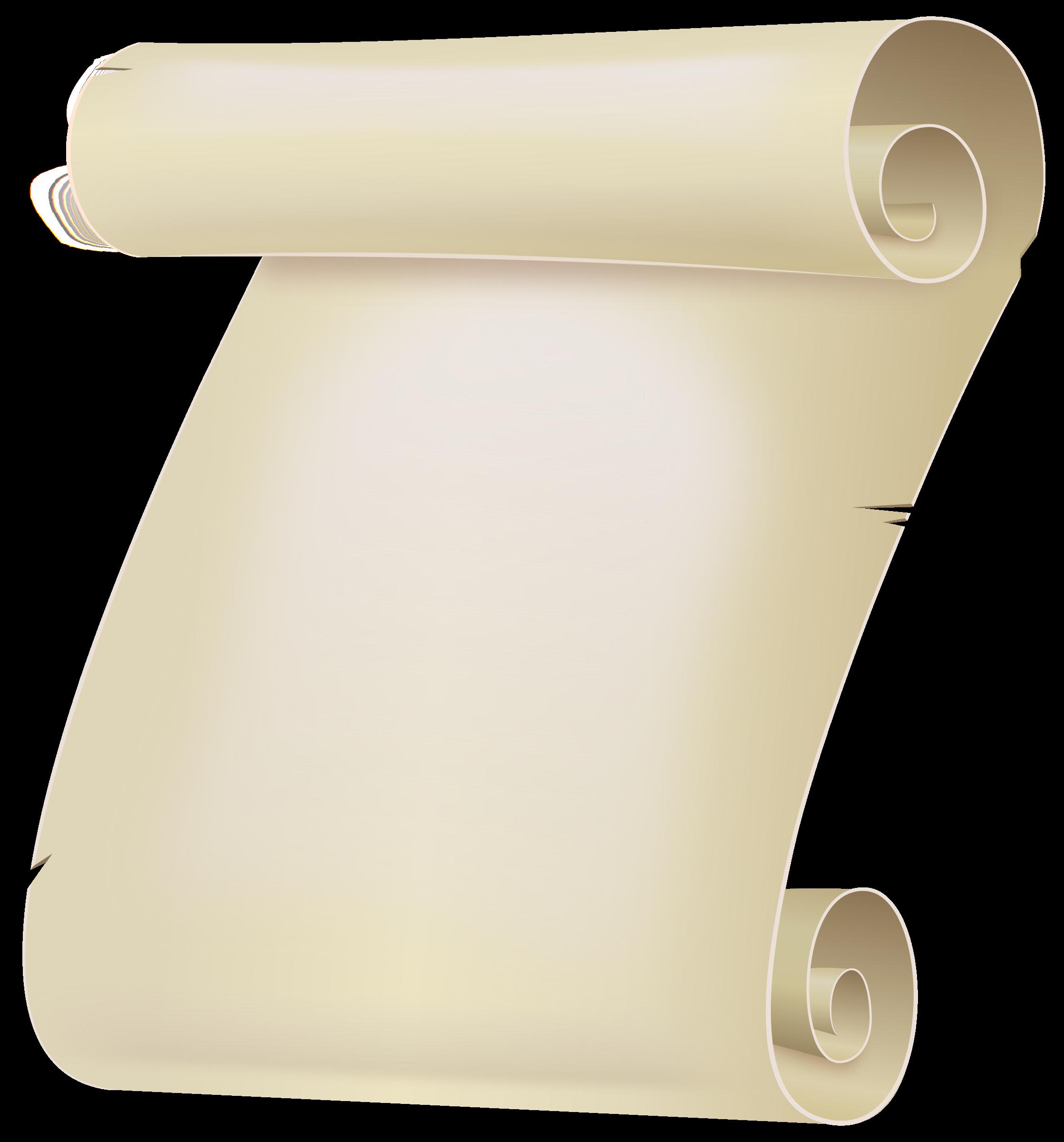 Scroll clipart small scroll.