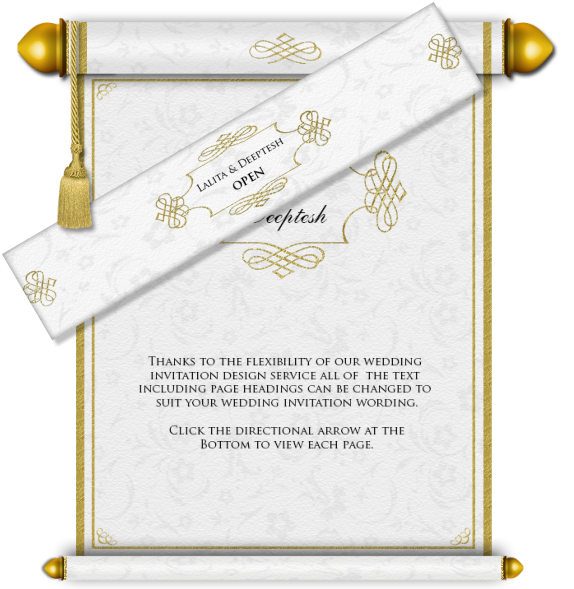 Scroll clipart wedding indian. All style email card