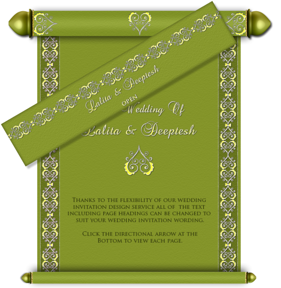 Scroll clipart wedding indian. Designs romeo landinez co