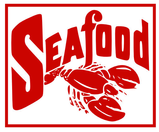 Delicious . Seafood clipart