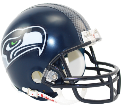 Seahawks helmet png. Mini by riddell seattle
