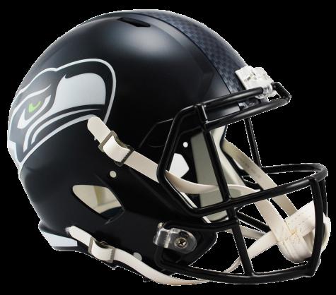 Seahawks helmet png. Seattle speed replica