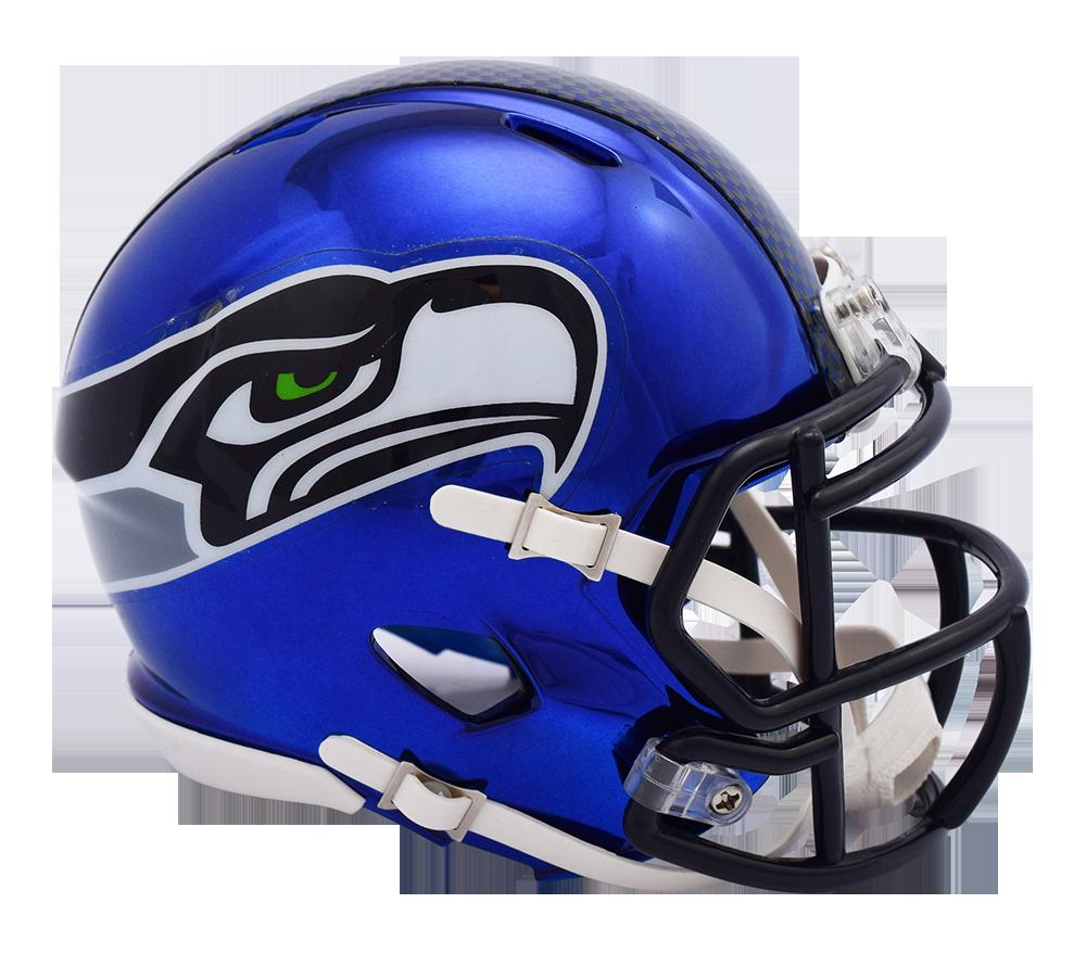 Seahawks helmet png. Nfl seattle riddell chrome