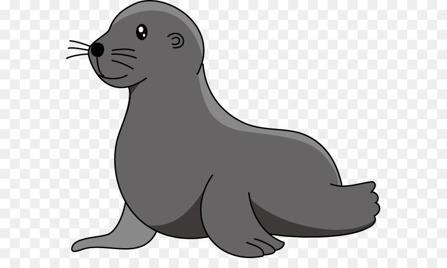 Walrus clipart sea lion. Baby elephant cartoon transparent