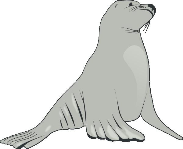 Seal clipart sea lion. Clip art at clker