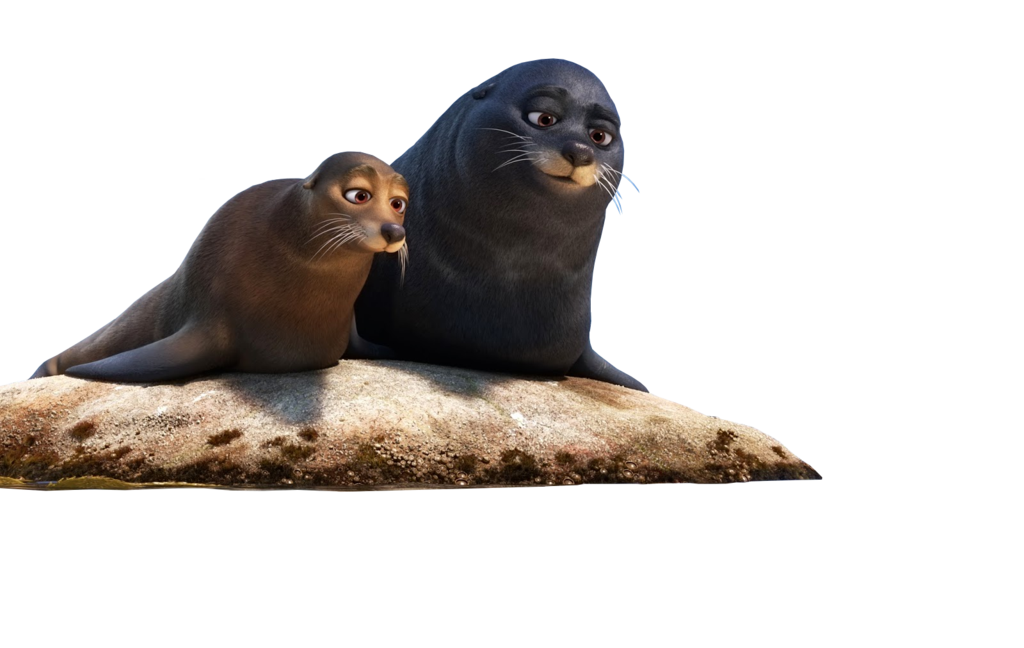 Seal clipart sea lion. Finding dory seals by