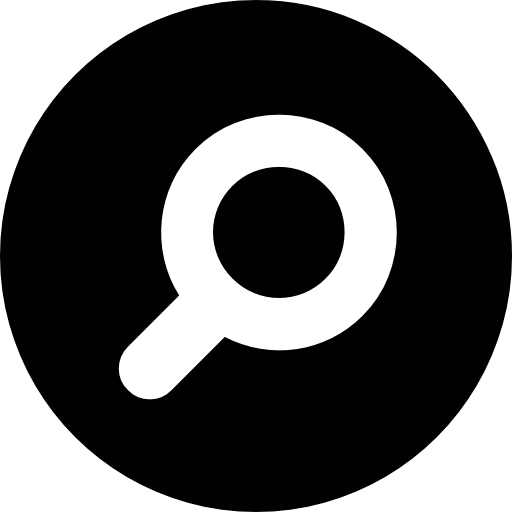 Search icon png. Magnifying glass button free