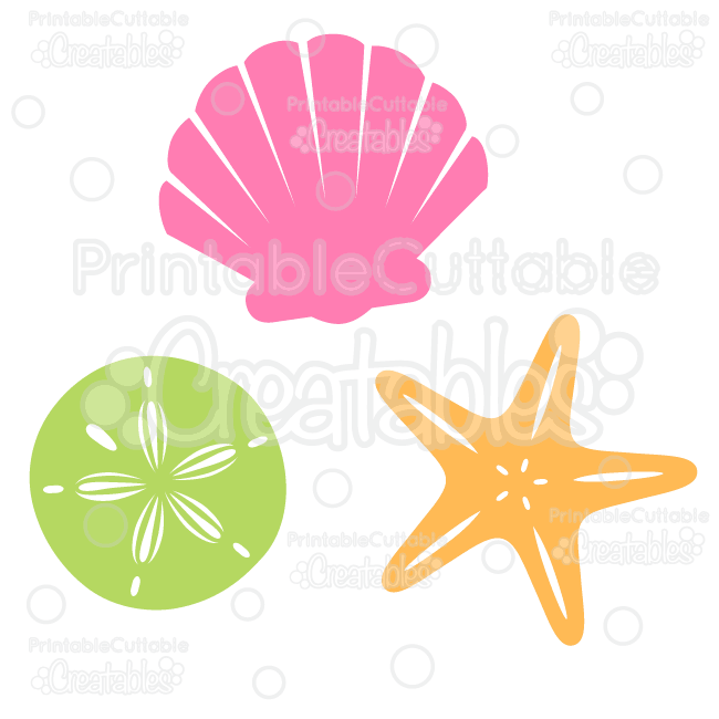 Sea shells free svg. Seashells clipart