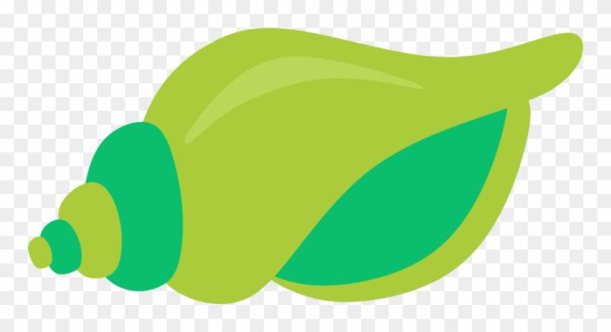 Seashell clip art png. Seashells clipart green