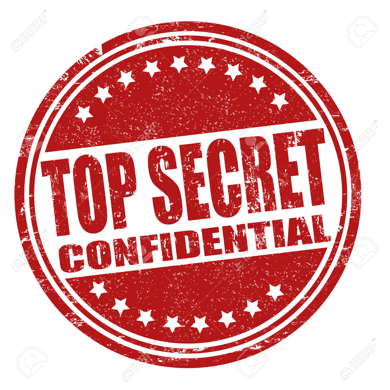 Mission top stamp . Secret clipart