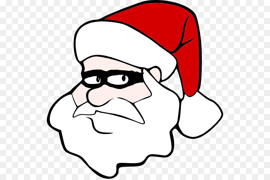 Secret clipart. Santa claus cartoon clip