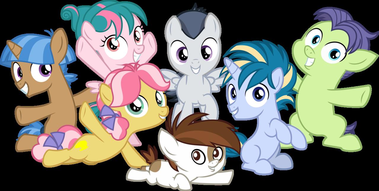 Secret clipart group gossip.  artist sollace foal