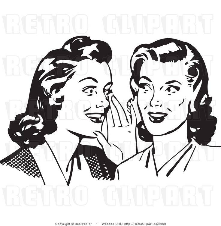 Whisper clipart man. Gossip free download best