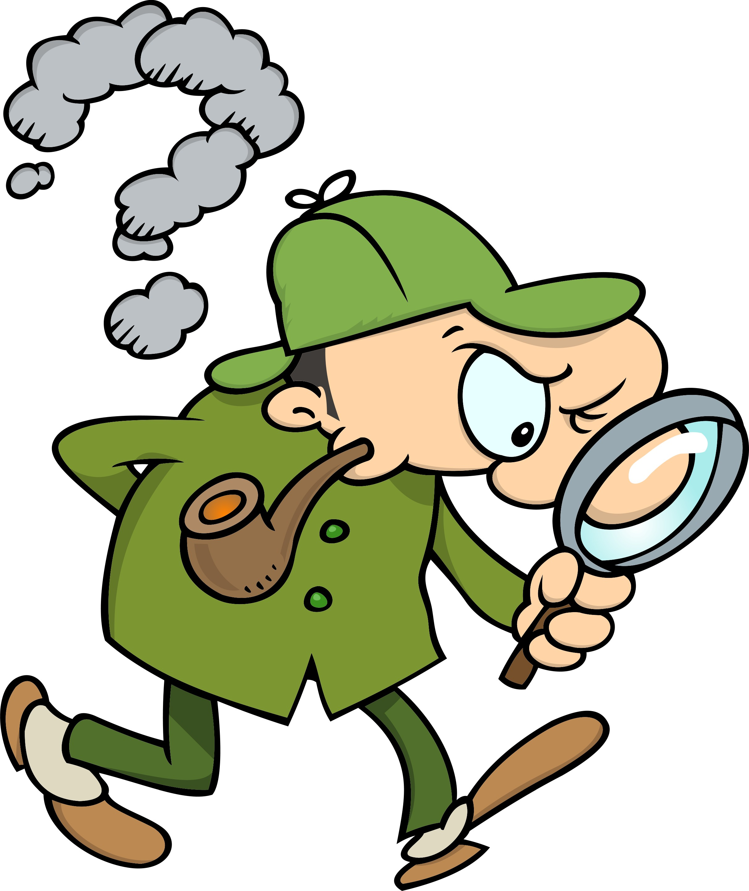 Free i see cliparts. Detective clipart problem solving
