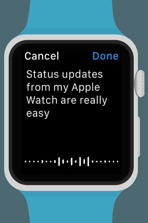 See clipart apple watch. Littlebook puts facebook on