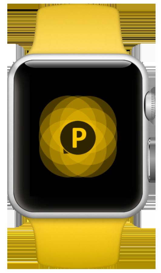 See clipart apple watch. Parkapp applewatch flower