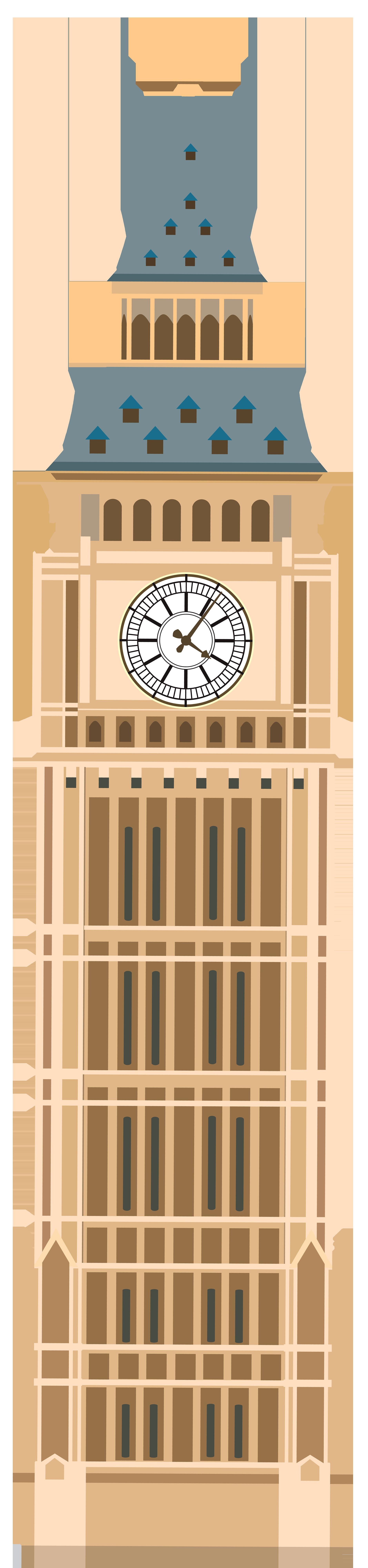 Tower clipart ben. Big png clip art