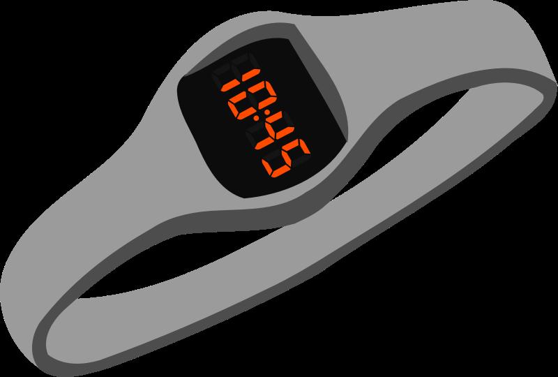 See clipart digital watch. Medium image png