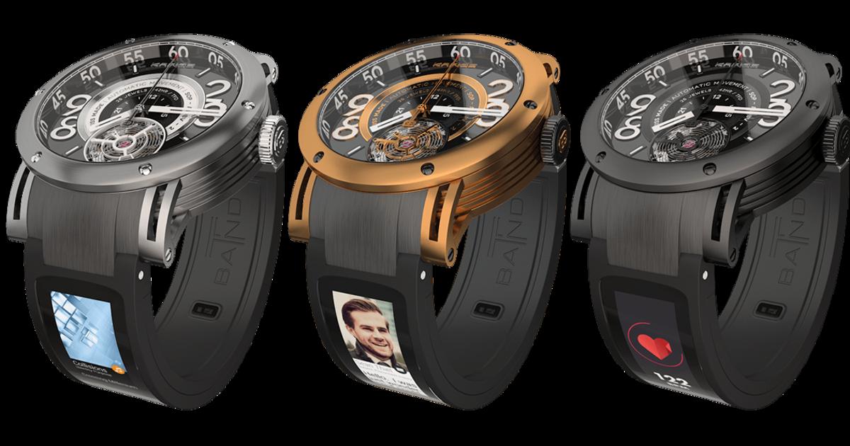 See clipart smart watch. Kairos t band smartwatch