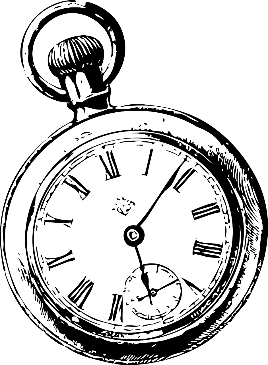 See clipart watch line. Pocket drawing clip art