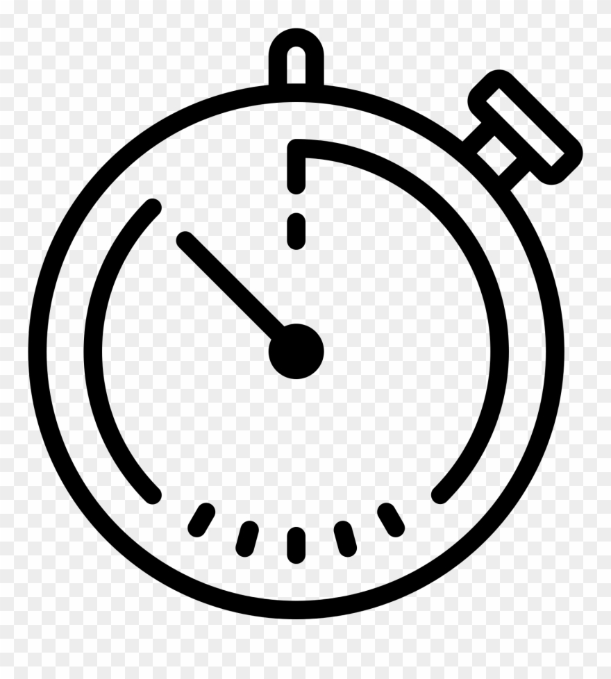 Stop icon pinclipart . See clipart watch line