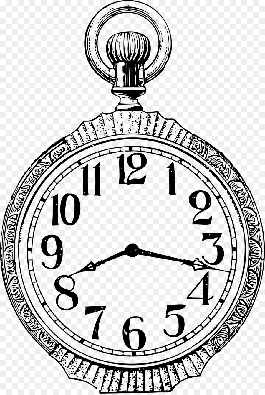 See clipart watch line. Book black and white
