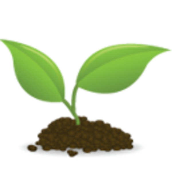Roots clipart tree icon. Seedling free images at