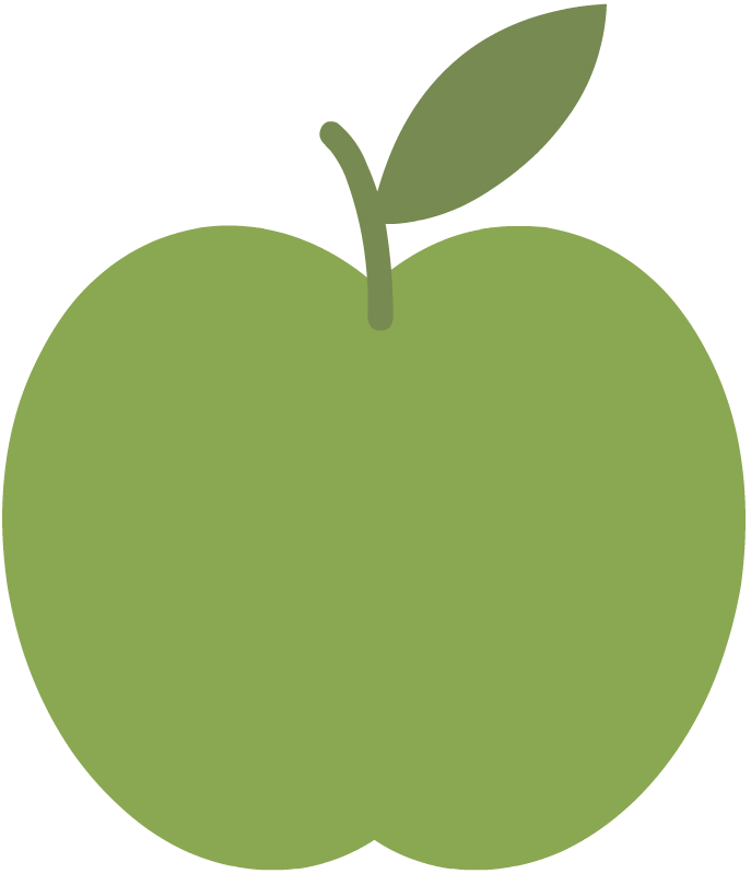 Where five valleys meet. Young clipart apple tree